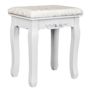 Çiçek Tasarım Pansuman Vanity Tabure Makyaj Pad Yastık Sandalye Piyano Koltuk Yatak Odası Dışkı Siyah Beyaz Ücretsiz Kargo