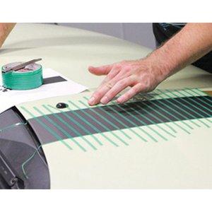 최신 2 X 500CM 비닐 자동차 랩 Knifeless 테이프 디자인 라인 자동차 스티커 절단 도구 비닐 필름 배치 컷 테이프 자동차 액세서리