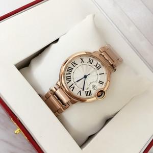 2019 Fashion Clock Orologio da donna / uomo con data Orologio da polso di lusso Bracciale in acciaio inossidabile Amante di lusso Chiusura pieghevole in oro rosa
