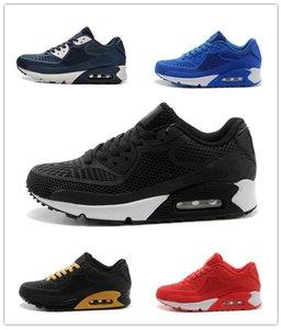 NIKE Air Max 90 KPU 2019 Yeni Alr Yastık 90 KPU Erkek Kadın Spor ayakkabı Yüksek Kalite klasik Sneakers Ucuz 11 renkler Spor koşu Ayakkabıları Boyutu 36-46