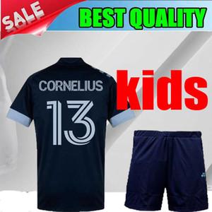 МЛС Ванкувер Уайткэпс 20 21 от дети трикотажные изделия футбола 2020 2021 Монтеро Рейна ALIADNAN INBEOM Фелипе ARDAIZ Джерси футбол рубашки