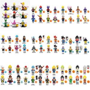Bola único dragão Z Broly Super Sayayin Bulma Perfeito celulares Goku Troncos Vegeta modelo Building Blocks presentes para as crianças Brinquedos