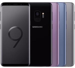 Téléphone cellulaire débloqué original pour Samsung Galaxy S9 G960U G960F 64GB / 128GB / 256GB 5.8inch 12MP Single Sim 4G Lte