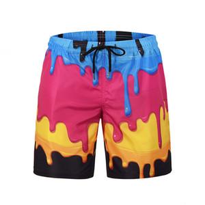 Mr.1991INC Men's Polyester Board Shorts Summer Beach Short Quick Drying Swimwear Swim Shorts Plus Size