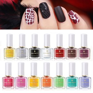 Polish BORN Stamping PRETTY Nail 6ml Colorful Plate Printing Varnish varnish Art Stamp Oil 58 Colors Available