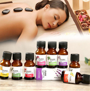 12pcs lot 10ml Tree Pure Essential Oils for Diffusers Natural Skin Care Lift Skin Plant Fragrance oil
