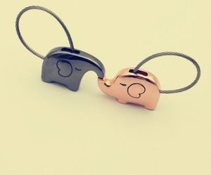 New Gifts Elephant Bag Wedding Animal Key Ring Holder Keyring Party Handbag Keychain Souvenir Car Metal Favors And Cute Jmgxg
