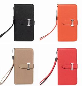 Moda per iPhone X Xs Max Xr Custodia portafoglio in pelle di design di lusso per iPhone 8 7 6s Plus Fashion Portafoglio in carta Flip Cover 09