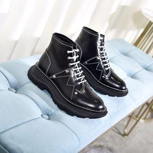 Hot Sale-ootie Designer Platform Boots Lady Heel Martin shoes