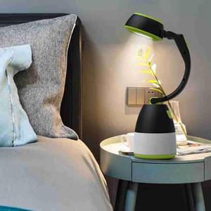 Lâmpadas Tabela 3 em 1 Tent Lâmpada LED Camping Lâmpada Luz de emergência Início USB portátil recarregável lanternas Móveis ZZA2337