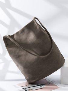 Cotone e borsa letteratura canapa secchio e piccola borsa fresca sacchetto di svago sufeng originale arte donne di grande capacità