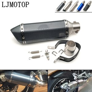 36-51mm Universal Modified Motorcycle Exhaust Muffler with DB Killer For M400 M600 M620 M750 M900 M1000S S4 S4R