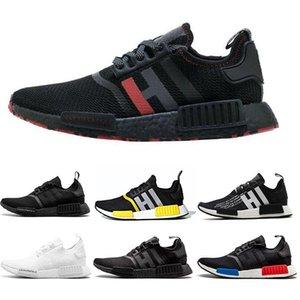 Erkekler Kadınlar OG Yayın OREO Runner Spor ayakkabı 36-46 İçin Ayakkabı Koşu 2020 Yeni Runner R1 Primeknit Üçlü siyah beyaz Tasarımcı
