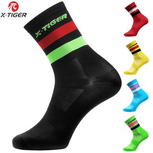 portswear & Accessories Sports X-TIGER High Quality Professional Cycling Men Women Breathable Bicycle Socks Outdoor Racing Bike Com...