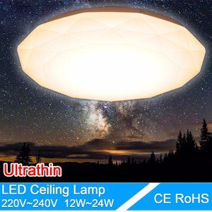 LED Deckenleuchte 12 Watt 18 Watt 24 Watt 2835SMD Moderne Lampe Wohnzimmer Leuchte Schlafzimmer Küche Oberflächenmontage Flush Panel