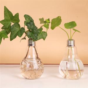 24 x d8 * 14 cm vaso de flor de vidro transparente forma hidropônica recipiente terrário planta flor vaso de escritório em casa decoração