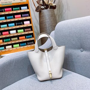 AS003 high-end top designer tailored ladies handbag imported original calfskin personality stitching 18 cm shoulder bag