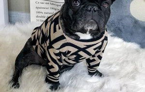 Lüks Hoodie Kol Sıcak Moda Pet Köpek Giyim Triko yaka Sevimli Moda Pet Sonbahar ve Kış Isınma Sevimli Triko 212