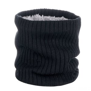 Outdoor Neck Warmer Scarf Sports Caps & Headwears Athletic & Outdoor Accs Soft DoubleLayer Knitted Fleece Lined Neck Gaiter for Cycling Skii