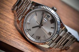 Orologio da uomo di vendita calda di trasporto libero Orologi da uomo di vendita superiore orologi meccanici movimento automatico orologio da polso in acciaio inossidabile per l'uomo 164