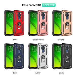 MOTO G7 Pleine Couverture Hybrid Armure Cas Pour Motorola MOTO G7 PUISSANCE Coque Arrière Cas de Téléphone Mobile g7power