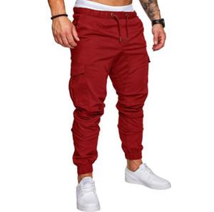 Pantalon de sport décontracté pour hommes de la marque Pantalon de sport élastique Pantalon de sport FashionTrousers Homme Survêtement Bas Homme Jogger