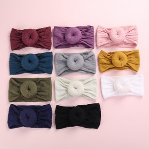 27pcs Knot Bows Wide Nylon Headbands,One Size Fit Most New Braid Cable Knit Nylon Turban Headwraps Round Knot Head Wraps 27color