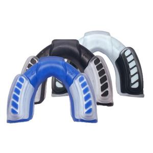 Professional Sports paradenti protezione di bocca Denti Cap Protect per la boxe di pallacanestro dei denti della gomma della protezione Protect