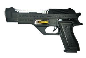 Flyde Pistola giocattolo elettrica, imitazione pistola, pistola corta, pistola cecchino, pistola giocattolo per bambini con Soulds