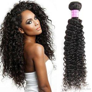 Dhgate Bemiss Vendeur brésilien cambodgiennes Mongolie Indien Malais péruvienne humaine Bundles Cheveux noirs naturels non transformés Kinky cheveux bouclés