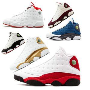 20 Chaussures de basket-ball Hommes Chicago GS Hyper Royal Black Cat Flints Bred Brown Olive Blé DMP gris Ivoire hommes baskets de sport