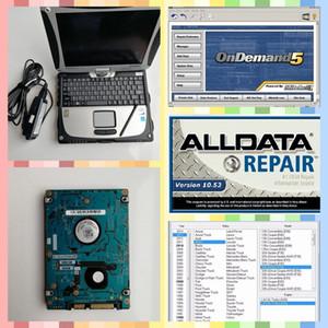 alldata araba tamir soft-ware alldata 10.53 ve m-itchell talep üzerine 2in1 1tb hdd ile 2018 yüklemek sürümü laptop cf19 kullanıma hazır