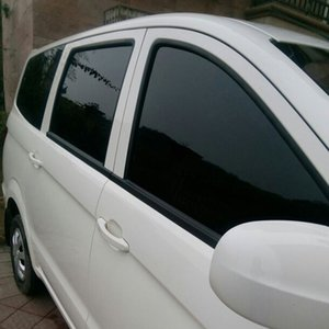75см × 3M Black Car Home Glass Window Tint Колеровка пленки скребок Автоаксессуары Dark Black Window Tint Film Glass