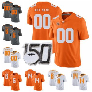 Tennessee Volunteers College Football maglie Henry To'o To'o Jersey Kenny Chesney Will McBride Jalen Hurd Joshua Dobbs personalizzato cucito