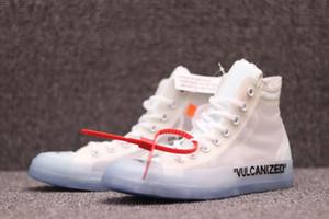 Hotsale Патроны Vulcanized Off Conver Canvas 1970 Star Скейтбординг обуви Дизайнер Белых Патроны Мода Повседневная обувь Открытые обуви 36-45