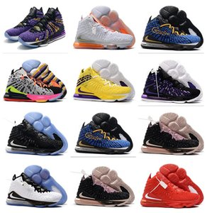 2020 New LeBron 17 XVII Low Tune Squad hot sale With Box 17S best men Basketball shoes free Children Boys Kids shipping store wholesale