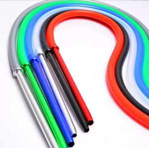 Alumínio Stem Shisha Hookah silicone cor Mangueira 1.7m Comprimento 6 com Metal Mouth Dicas cachimbo Tubes Ferramentas acessórios venda