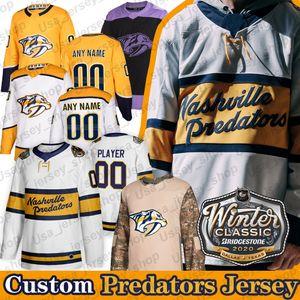 2020 Winter Classic Nashville Predators Jersey Pekka Rinne Ryan Ellis romana Josi Filip Forsberg Matt Duchene Austin Watson jerseys del hockey
