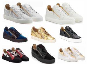 Herrenmode Frühjahr und Herbst Schuhe weiß Zipper Low-Top-Freizeitschuhe Zip Sportschuhe
