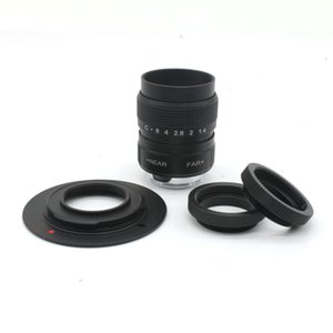 25mm F1.4 CCTV TV Movie lens + c Mount to nex for Sony shipping&tracking number