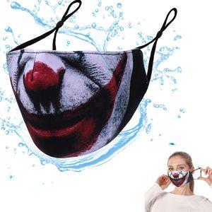 100pcs Halloween Party Skull Masks Magic Clown Bicycle Ski Sports Half Face Mask Multi Use Neck Sunscreen Mouth adult Face Designer Masks