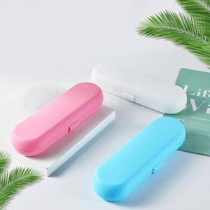 Portátiles titular de dientes cepillo de dientes eléctrico caso del almacenaje del viaje seguro caja de la caja electrónica al aire libre Cepillo casos protegen libre de DHL