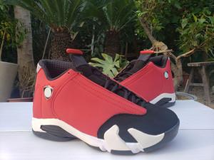 Nouvelle version 14 GS Gym Rouge Blanc Noir Hommes Chaussures de sport en plein air Chaussures de sport 14s garçons Basket Formateurs Designer 487471-006