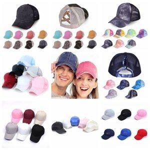 면 포니 테일 야구 모자 모자 차양 통기성 모자 야외 스포츠는 조정 가능한 크로스 여성 여자 FFA4216 120P를 위해 모자 메쉬 캡