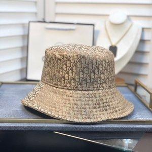 Brand Designer Cotton Letter Luxury Bucket Hat For Mens Womens Foldable Caps Fisherman Beach Sun Visor Sale Folding Man Cap b2