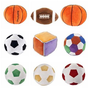 Imitation baseball de basket-ball de football de rugby beau jouet enfants sphère jouets oreiller Creative Cartoon Multistyle Boy Nouveauté T9I00215