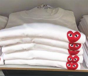 T-Shirt Sommer spielen Frauen Luxus Designer-Augen-Lippen Mode MoschinoS Frauen Sommer gestickte Cartoon Krone Druck Katze Drop-Shipping