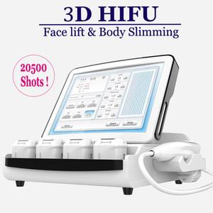 2019 أفضل HIFU تجميل آلة التجعيد إزالة الجلد رفع 3D HIFU آلة غير الوجه الجراحية معدات رفع