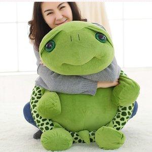 20-100cm Cartoon Big Eyes Tortoise Toys Stuffed Pillow Plush Turtles Toys Aniamls Dolls Lovely Soft Plush Toys Dolls for Kids