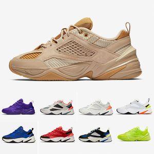 Drop shipping HOT Monarch M2K Chaussures Tekno Monarch 4 Designer Zapatillas Chaussures de course Hommes Femmes Classique Baskets des chassures pas cher 36-45